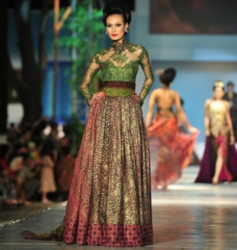 Dress Batik Nisa Polos Dn 04 3 tips meilih baju kebaya modern fika shop