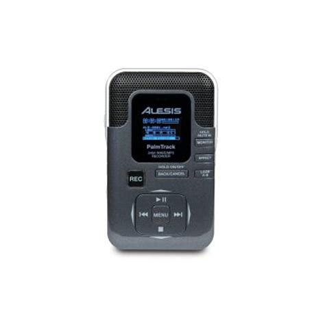 palm track alesis palmtrack 24 bit sd card field recorder