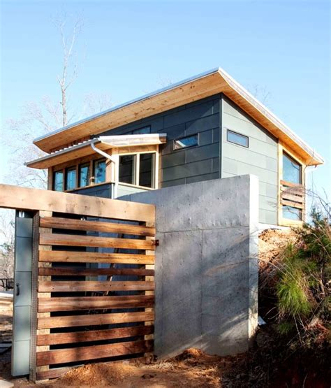 modern rustic home with casita modern exterior barker s bluff lake house rustic modern retreat for the
