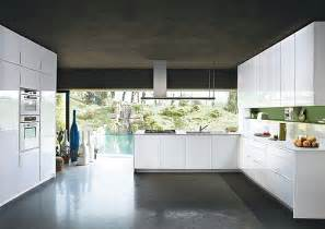 Sleek Kitchen by Contemporary Italian Kitchen Offers Functional Storage
