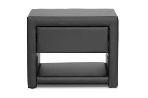 Masseys Furniture by Massey Black Upholstered Modern Nightstand Affordable