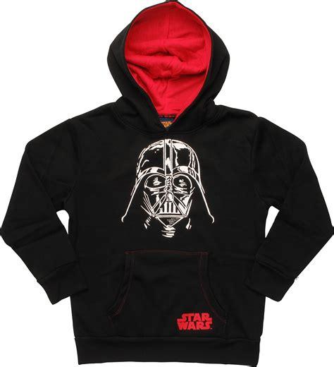 Hoodie Darth Vader P6kg wars darth vader helmet pullover youth hoodie