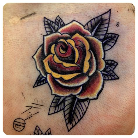 oldschool rose tattoo hd oldschool design idea for and