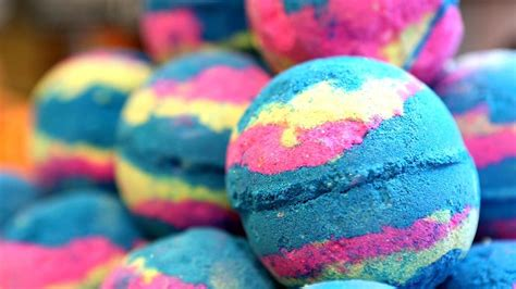 The Follow See How A Lush Bath Bomb Is Made Today Com