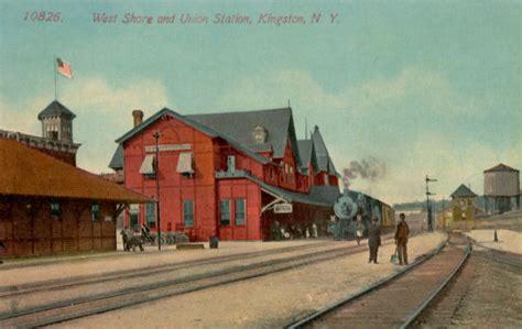 kingston station ulster delaware railroad