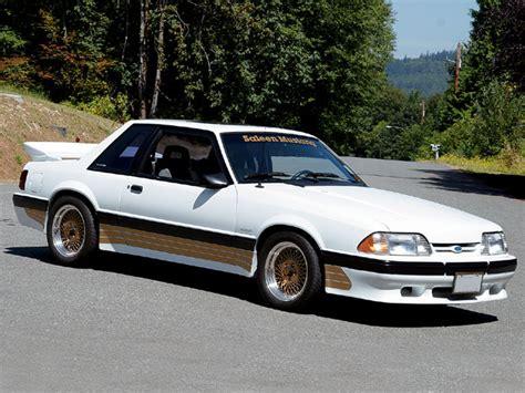 saleen notchback 88 saleen mustang pursuit coupe
