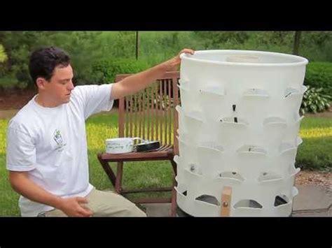 garden tower project diy di system pvc aquaponics tower diy