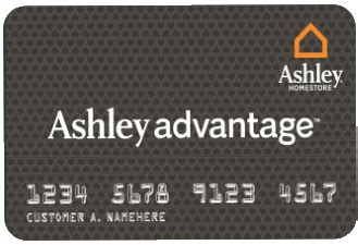 ashley furniture homestore credit card login payment customer service proud money