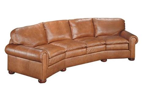 curved leather sofa durango curved sofa creative leather