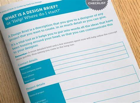 design brief guide what is a design brief