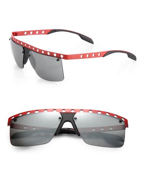 Prada Sunglasses Bahan Glass Semi Ori rectangular rimless sunglasses for mens louisiana brigade