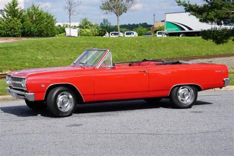 chevy malibu top speed 1965 chevrolet malibu drop top four speed for sale