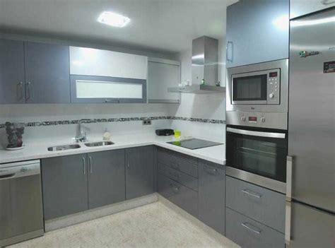 cocinas en blanco y gris nuevo cocina en color gris y blanco custom interior