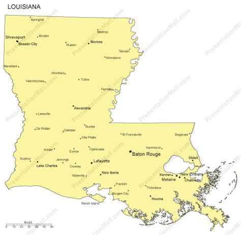 map of louisiana with cities louisiana outline map with capitals major cities