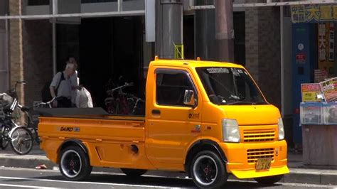 kei truck modified vehicles of japan subaru sambar kei class truck