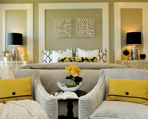 black white and yellow bedroom yellow black white bedroom bedroom ideas