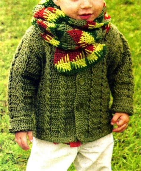 artesanales en crochet saco tejido en crochet con un bonito detalle tejidos artesanales en crochet saco para ni 241 o con puntos