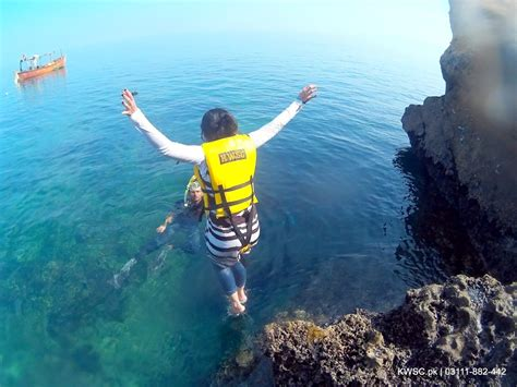 the cliff dive churna island underwater photography cliff diving and