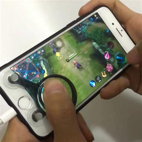 Mobile Joystick On Screen New mobile joystick mobile phone rocker touch screen joypad tablet controller 2