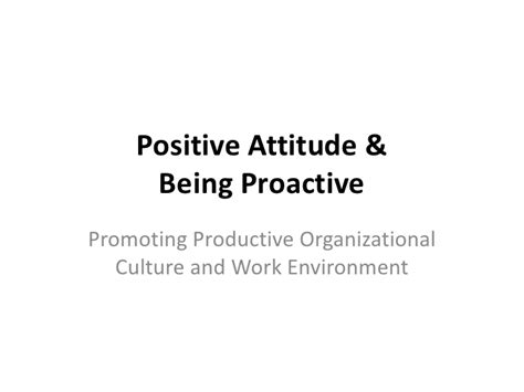work that works emergineering a positive organizational culture books positive attitude proactive thinking