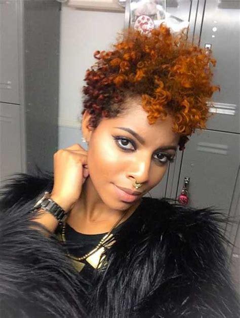 pixie cut  black women short hairstyles