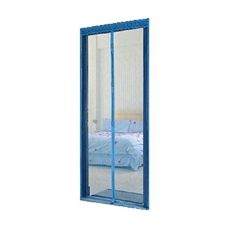 Tirai Nyamuk Tirai Pintu Magnetik jual eigia delice anti nyamuk tirai pintu magnet biru