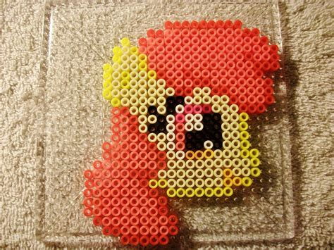 apple perler apple bloom perler bead sprite by lobsterrapist on deviantart