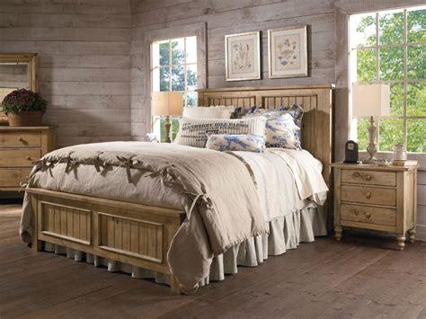 kincaid bedroom set kincaid homecoming solid wood panel bedroom set in vintage