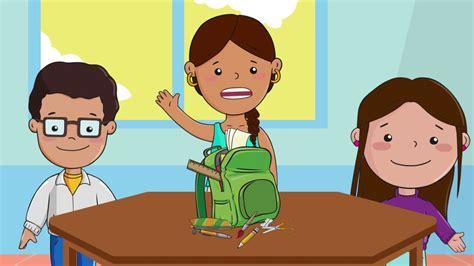 imagenes de los útiles escolares 218 tiles escolares school supplies ingl 233 s youtube