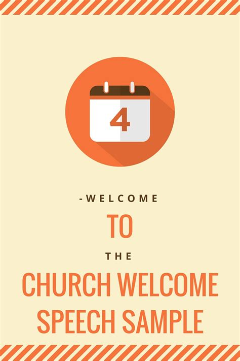 church welcome speech for visitors