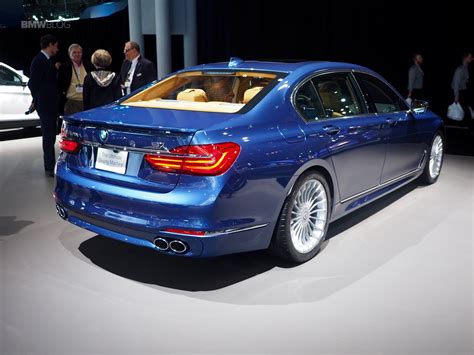 b7 bmw 2016 new york auto show bmw alpina b7 makes u s debut