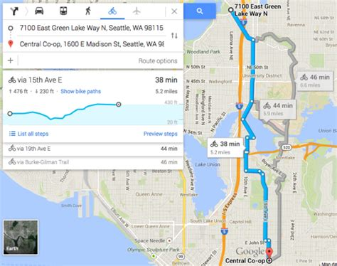 seattle map elevation maps now gives elevation information for bike