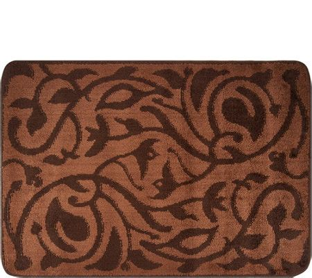 don aslett rugs don aslett s 26 quot x 38 quot tonal patterned microfiber indoor mat page 1 qvc