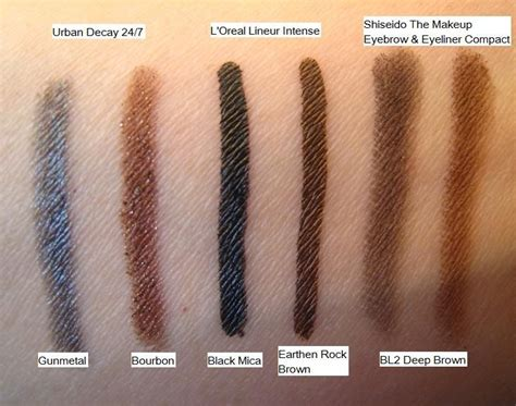 Eyeliner Pencil Decay decay 24 7 glide on eye pencil in bourbon reviews