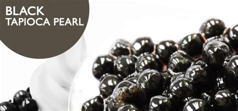 Jelly Hitam Pengganti Tapioka Black Pearl promotion quality tea ingredients competitive prices