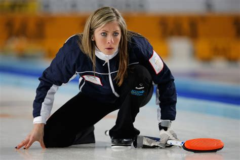hot female olympic curlers hot tips for russian gold as british athletes head for the