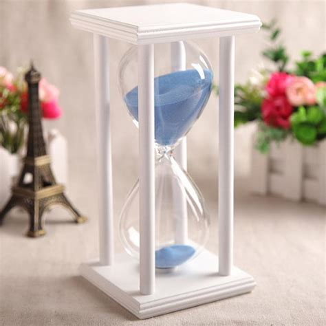 hourglass home decor colors 30 60min wooden sand sandglass hourglass timer