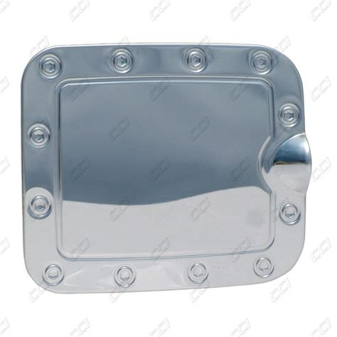 Gas Tank Door by Chrome Stainless Steel Gas Tank Door Cover For 2003 2004