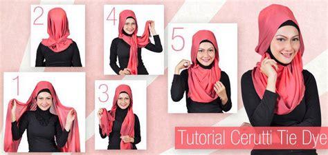 tutorial hijab pesta bahan ceruti tutorial cara memakai hijab modern bahan ceruti dengan