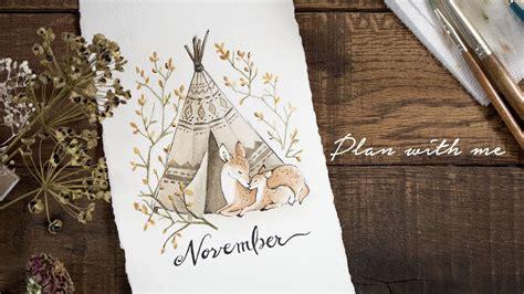 plan with me november 2017
