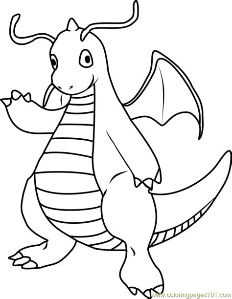 pokemon coloring pages dratini pokemon dragonite images pokemon images