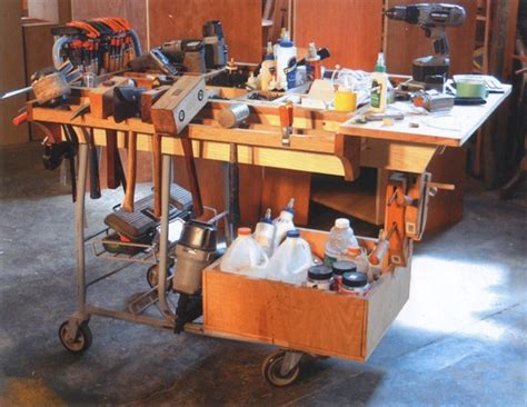 Rolling Work Benches Building Workshops Cool Tools