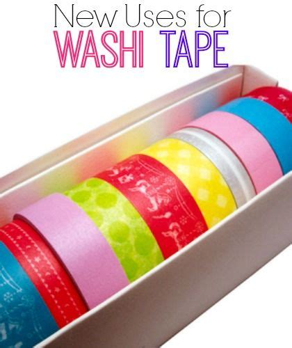 uses for washi tape six on saturday new uses for washi tape washi tape