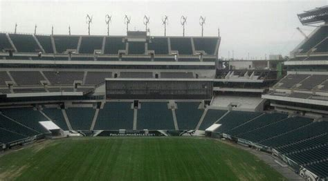 lincoln financial field standing room a look at lincoln financial field renovations crossing broad
