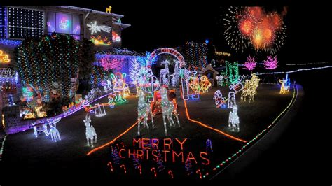 best christmas lights ever perth spectacular 2016 merry