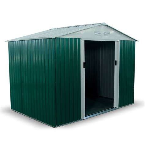 When Do Boxers Shed by Billyoh Boxer 9 X 6 Green Apex Metal Shed Garden Sheds Gt Metal Sheds Garden Buildings Direct