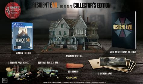 resident evil 7 collectors edition offers something