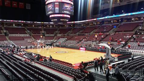 schottenstein center section 101 ohio state basketball