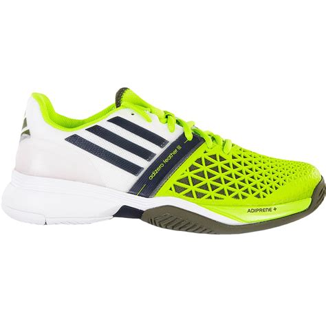 adidas tennis shoes adidas adizero feather iii s tennis shoes white silver