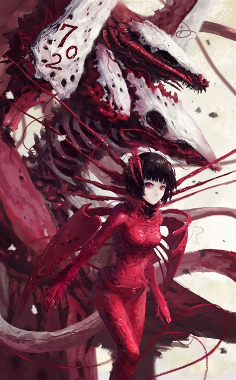 sidonia no kishi benisuzume sidonia no kishi zerochan anime image board